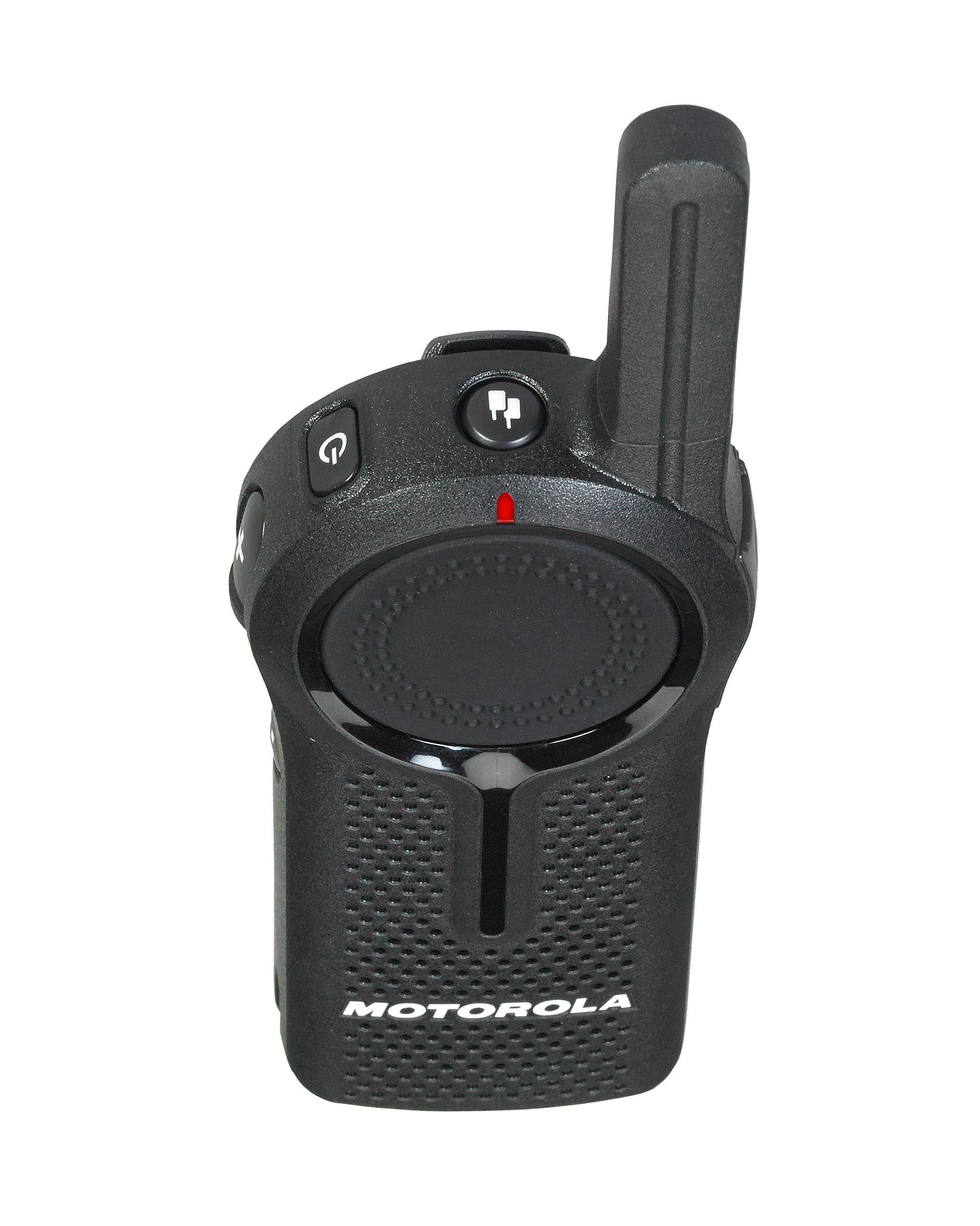 6 Motorola DLR1060 Digital Two Way Radios With HKLN4604 Headsets